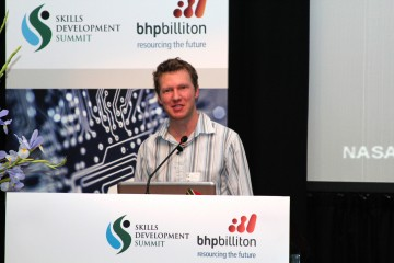 Prof. Robet van Zyl Deputy Director of the French SA Institute of Technology CPUT.JPG