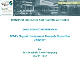 TETA PRESENTATION FOR SKILLS SUMMIT 2016_FINAL Mmaphefo.pdf