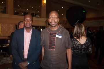 Tebogo Leshope; Dr Sandile Malinga