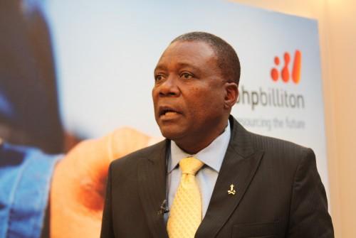 Dr Xolani Mkhawanazi CEO BHP Billiton 2.JPG